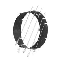 BarrelQ Notorius Big Shaslick Ring, Staalgrijs/zilver
