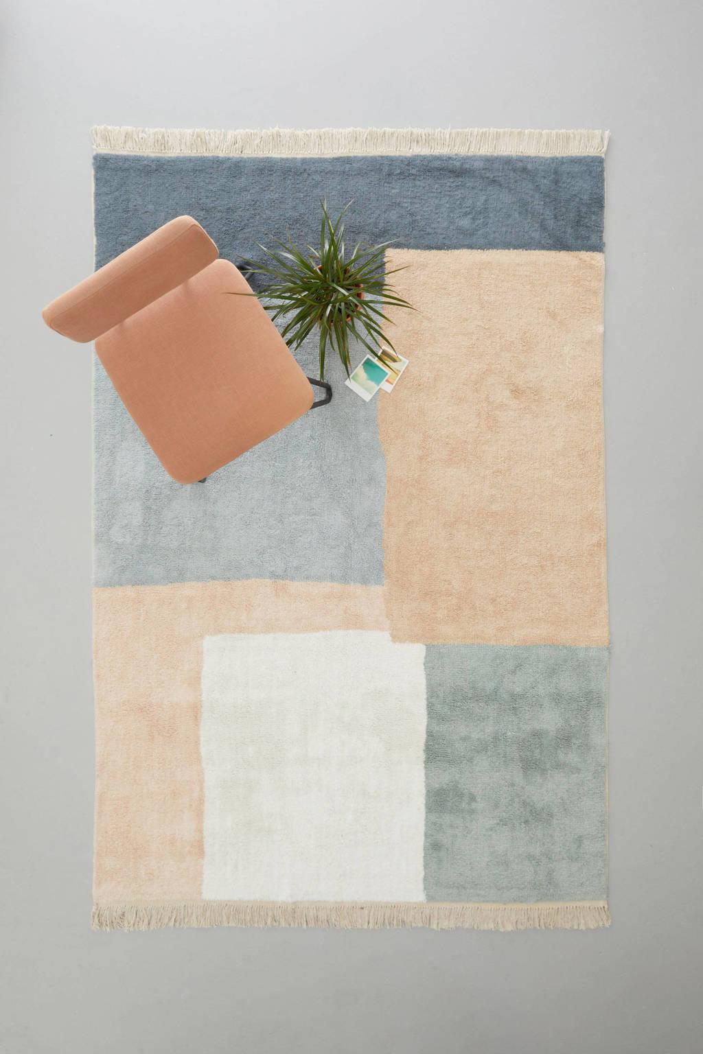 Wehkamp Home vloerkleed Easley  (230x160 cm), Roze