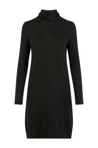 VERO MODA jurk met col zwart, Zwart