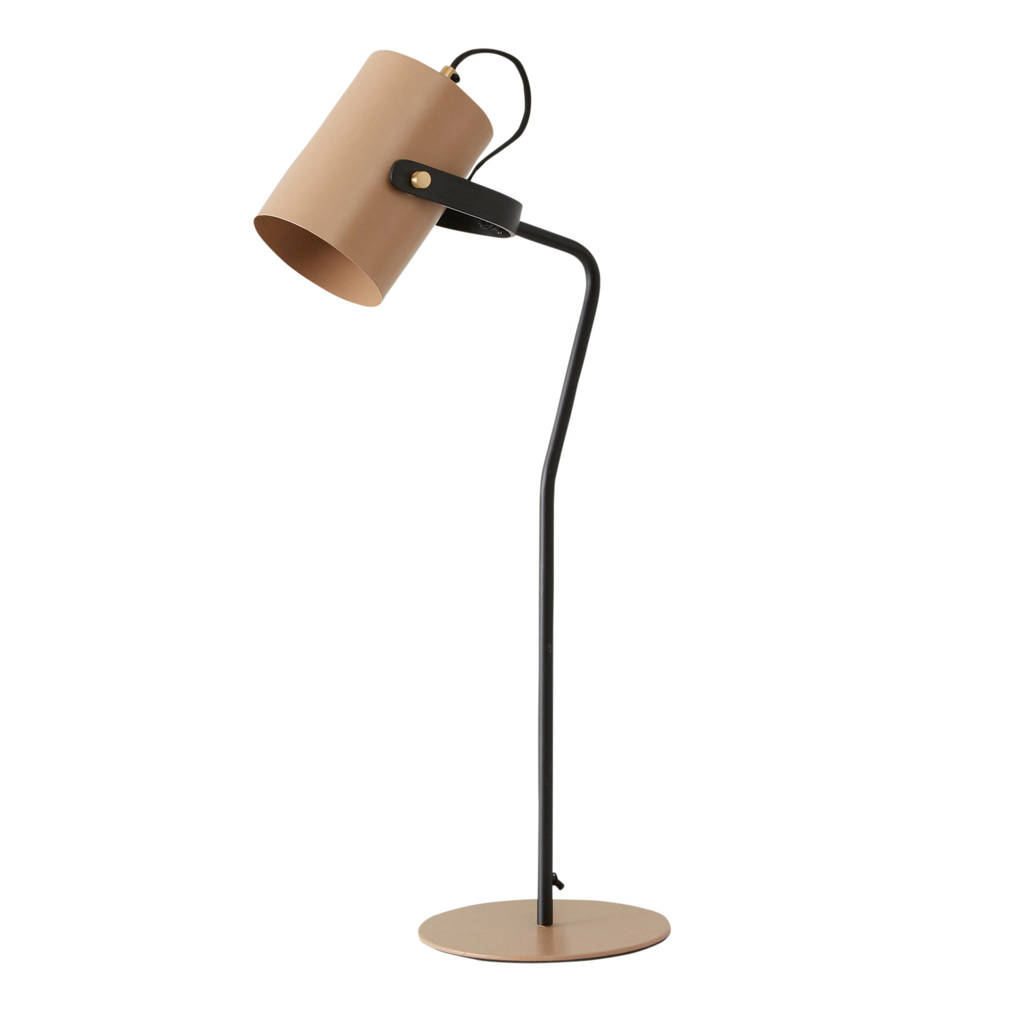 whkmp's own tafellamp, Zand/zwart