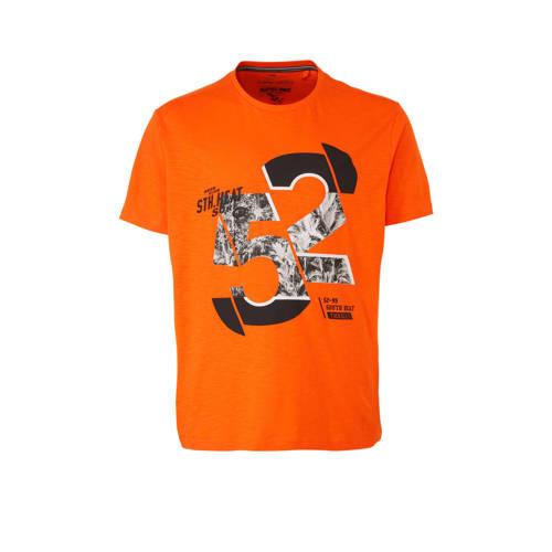 C&A XL Angelo Litrico T-shirt met printopdruk oranje