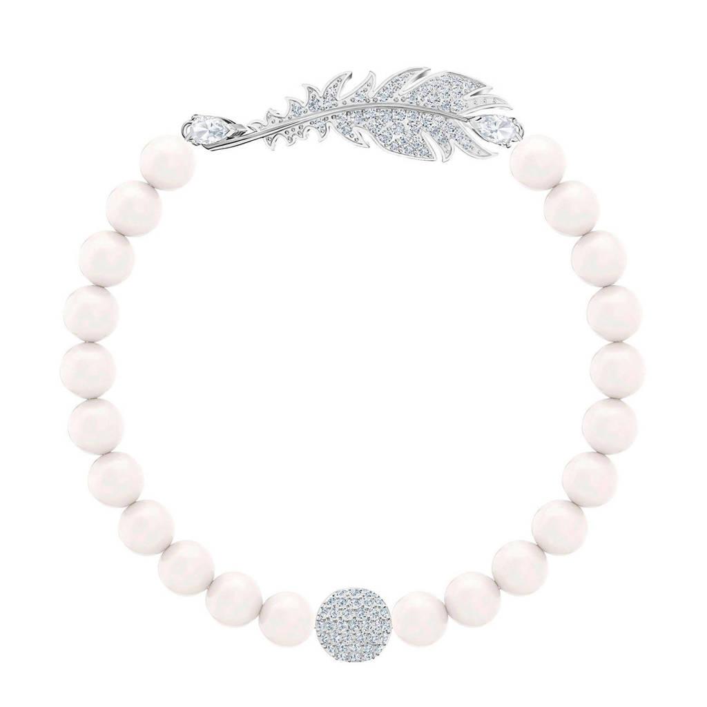 Swarovski armband 2019-05 zilver, Zilverkleurig