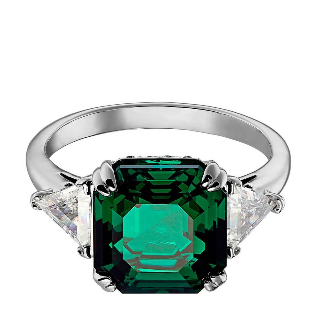 Swarovski ring Attract Ring 4 Ring 2019-05 groen, Groen/zilverkleurig