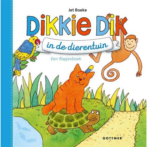Dikkie Dik: Dikkie Dik in de dierentuin - Jet Boek