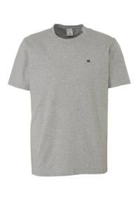 Scotch & Soda gemêleerd T-shirt grijs, Grijs