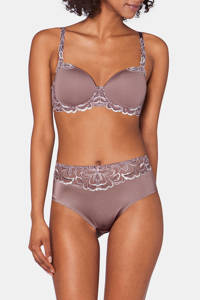 Triumph voorgevormde beugelbh Modern Finesse taupe, Taupe