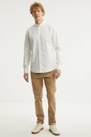 Stuart  regular fit chino zand