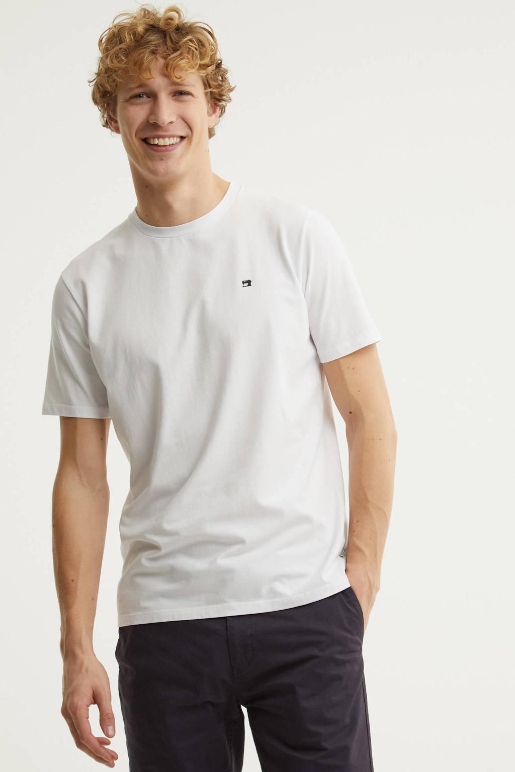 Scotch & Soda T-shirt wit, Wit
