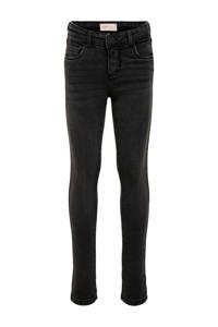 KIDS ONLY skinny jeans Rachel zwart, Zwart