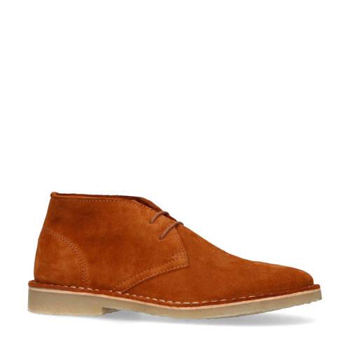 Sacha suède desert boots cognac