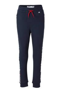 Vingino skinny broek Sambor met zijstreep donkerblauw, Donkerblauw