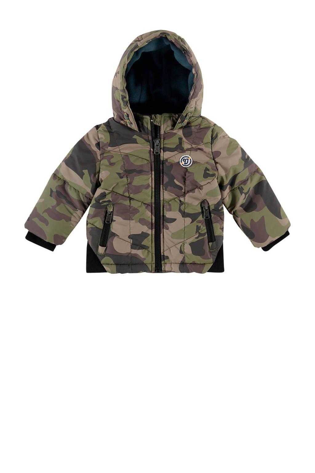 Vingino winterjas Taka camouflage army, Army camouflage