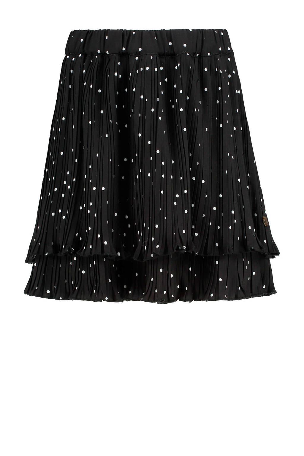 laatste mode usa goedkope verkoop hete verkoop online rok Quanne met stippendessin zwart