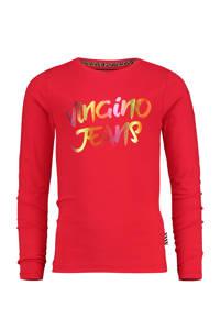 Vingino longsleeve Jessime met logo rood, Rood