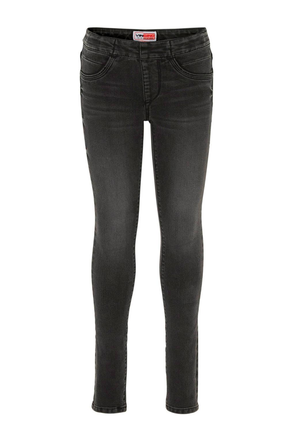 Vingino skinny jeans Biriba antraciet, Antraciet