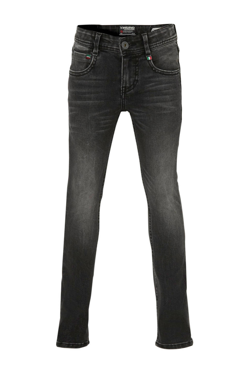 Vingino skinny jeans Argile donkergrijs, Donkergrijs