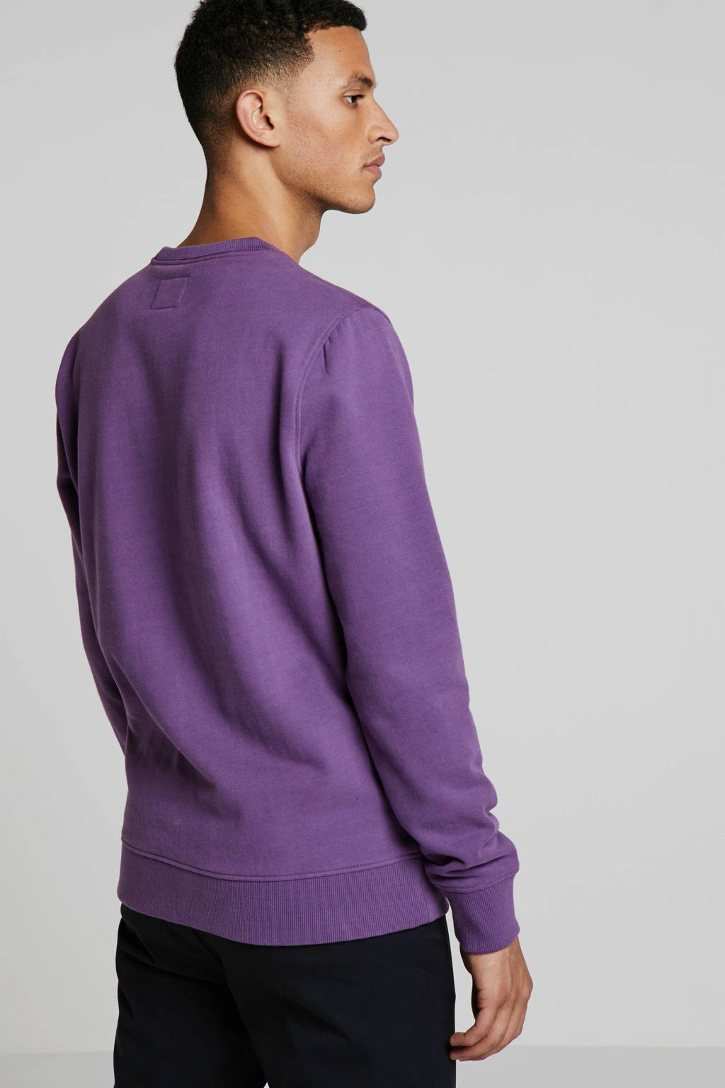 PME Legend sweater met logo paars, Paars