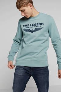 PME Legend sweater met logo, Groen