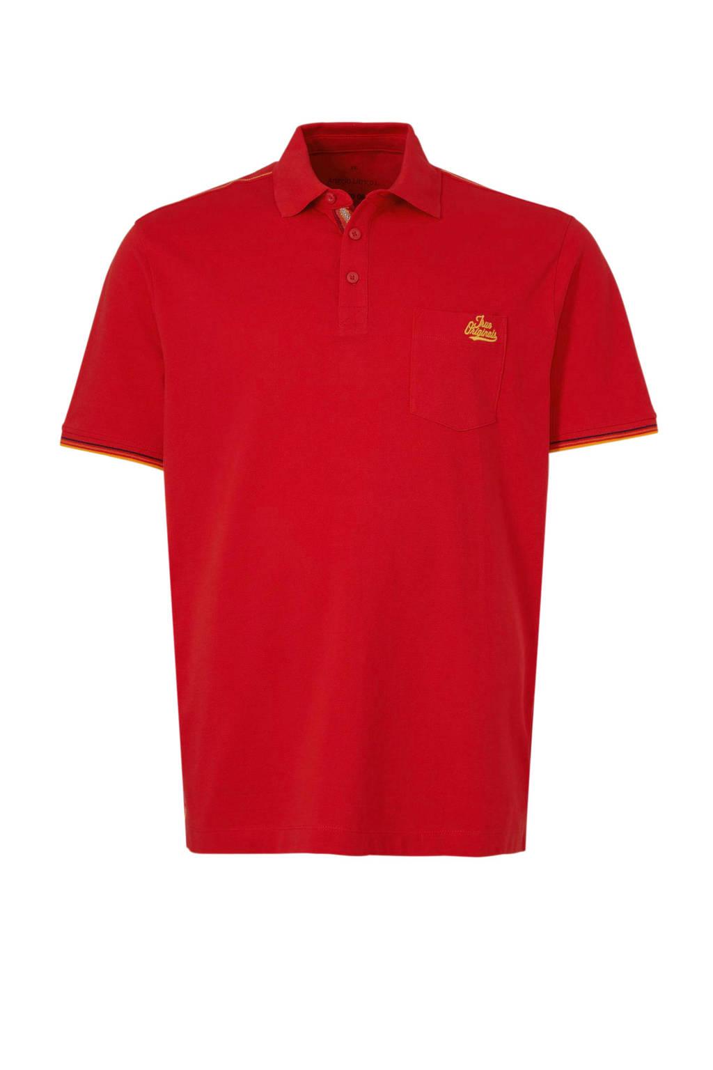 C&A XL Angelo Litrico polo rood, Rood