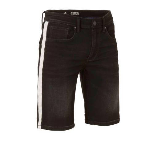 C&A The Denim regular fit jeans short zwart