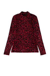 LMTD top Remedy met panterprint rood, Rood