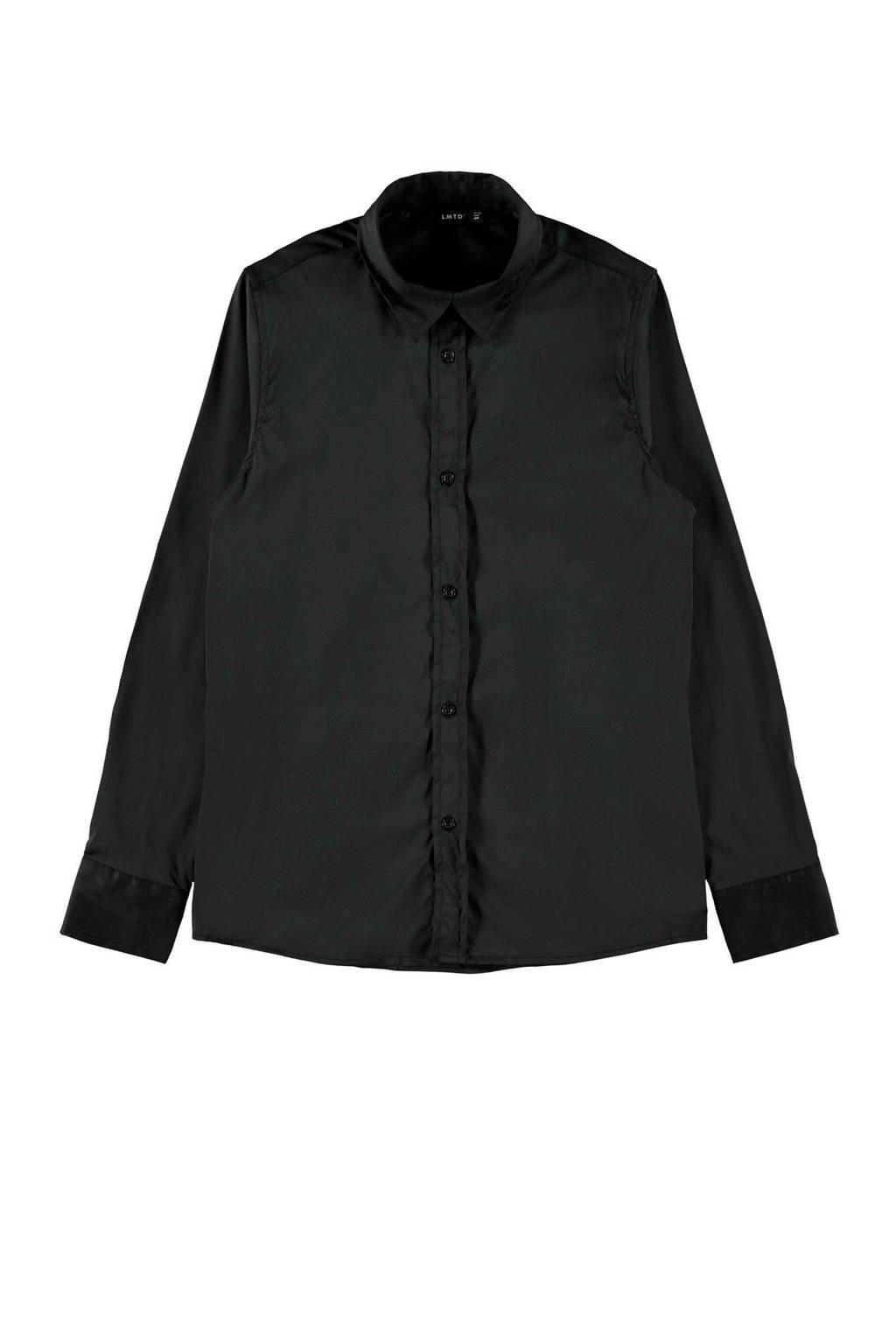 LMTD overhemd zwart, Zwart