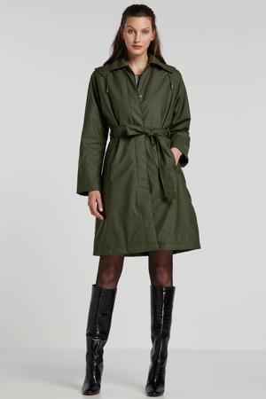 trenchcoat groen