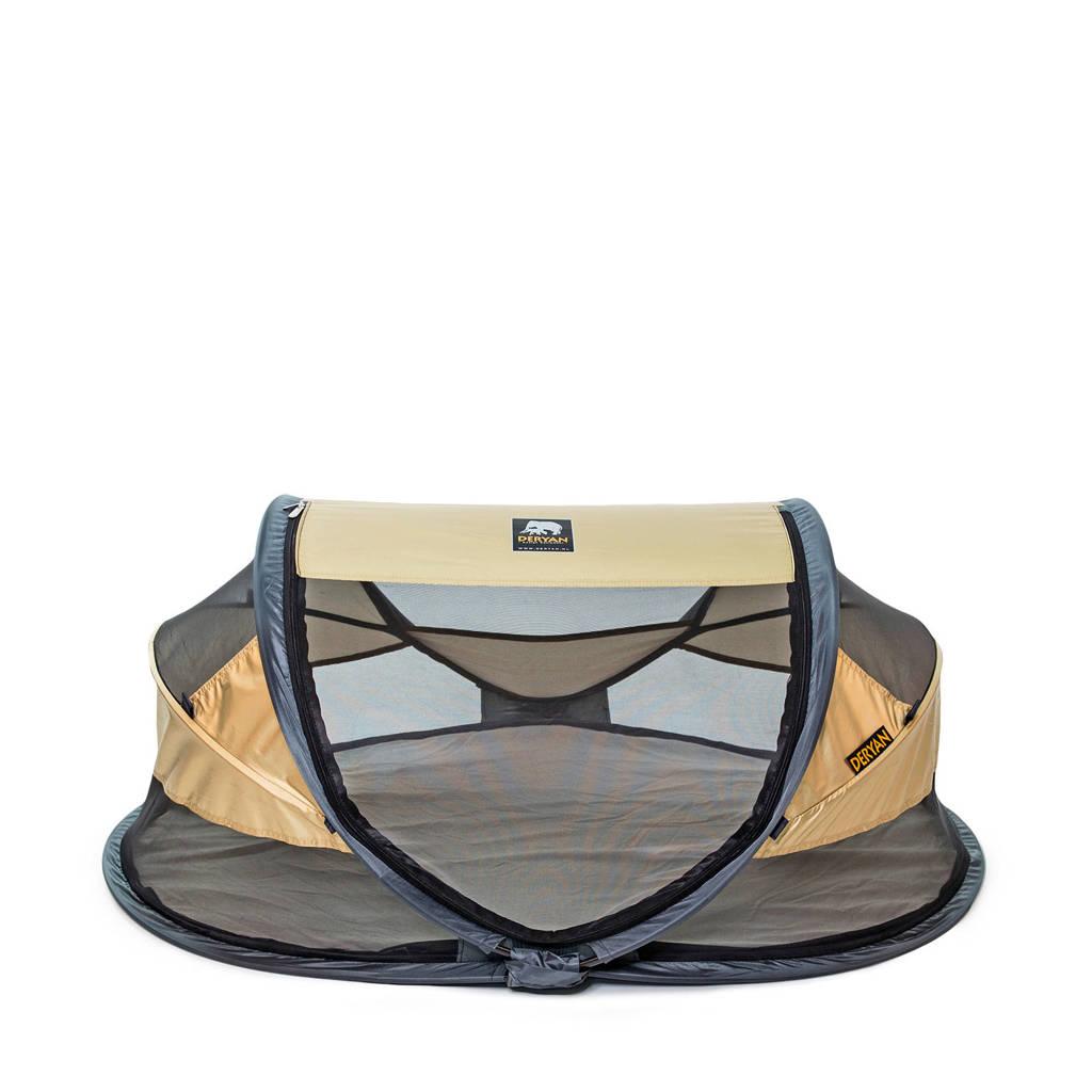 Deryan baby luxe - campingbedje - gold - 2020, Goud