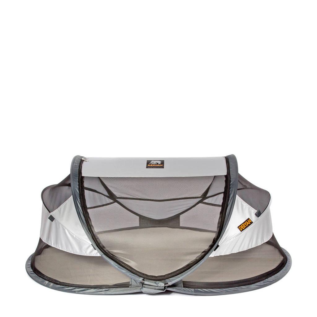 Deryan baby luxe - campingbedje - silver - 2020, Zilver
