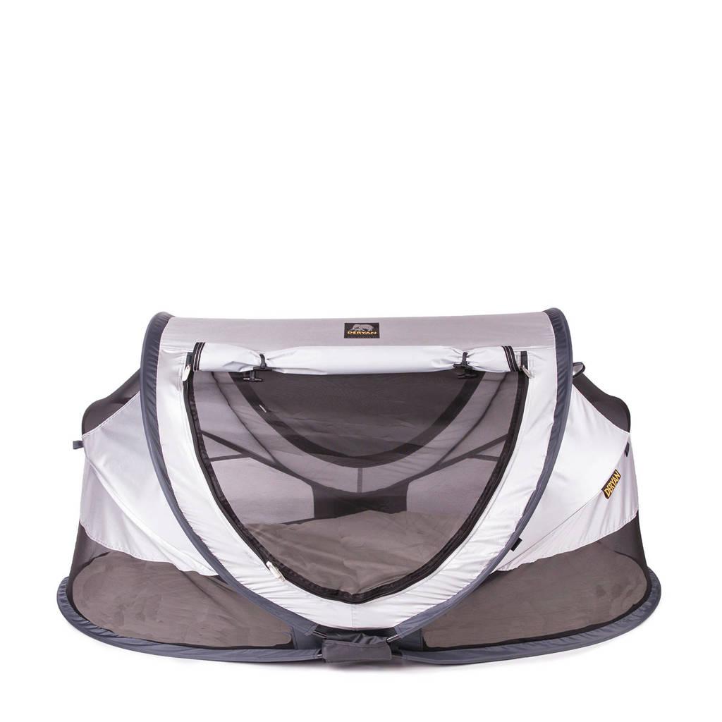 Deryan peuter luxe - campingbedje - silver - 2020, Zilver