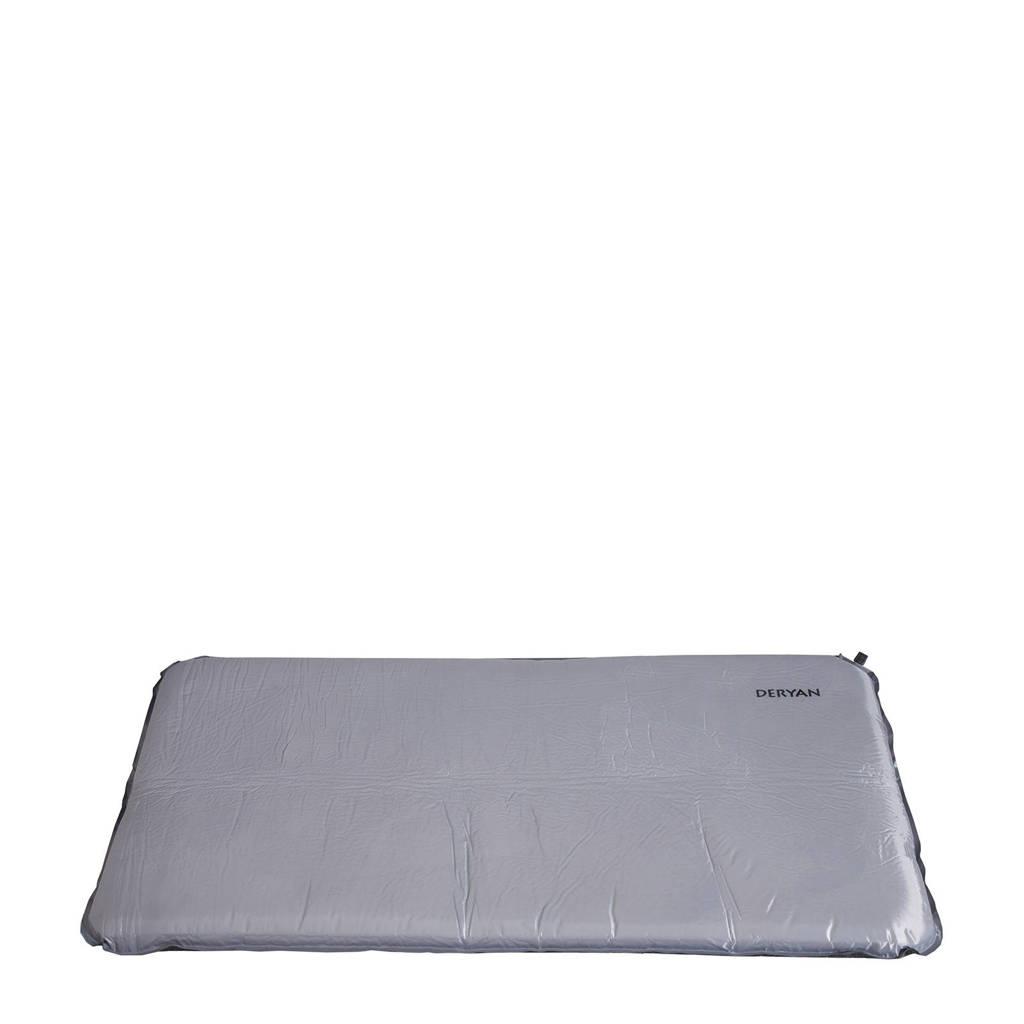 Deryan campingbed matras 120x60x6 cm, Grijs.