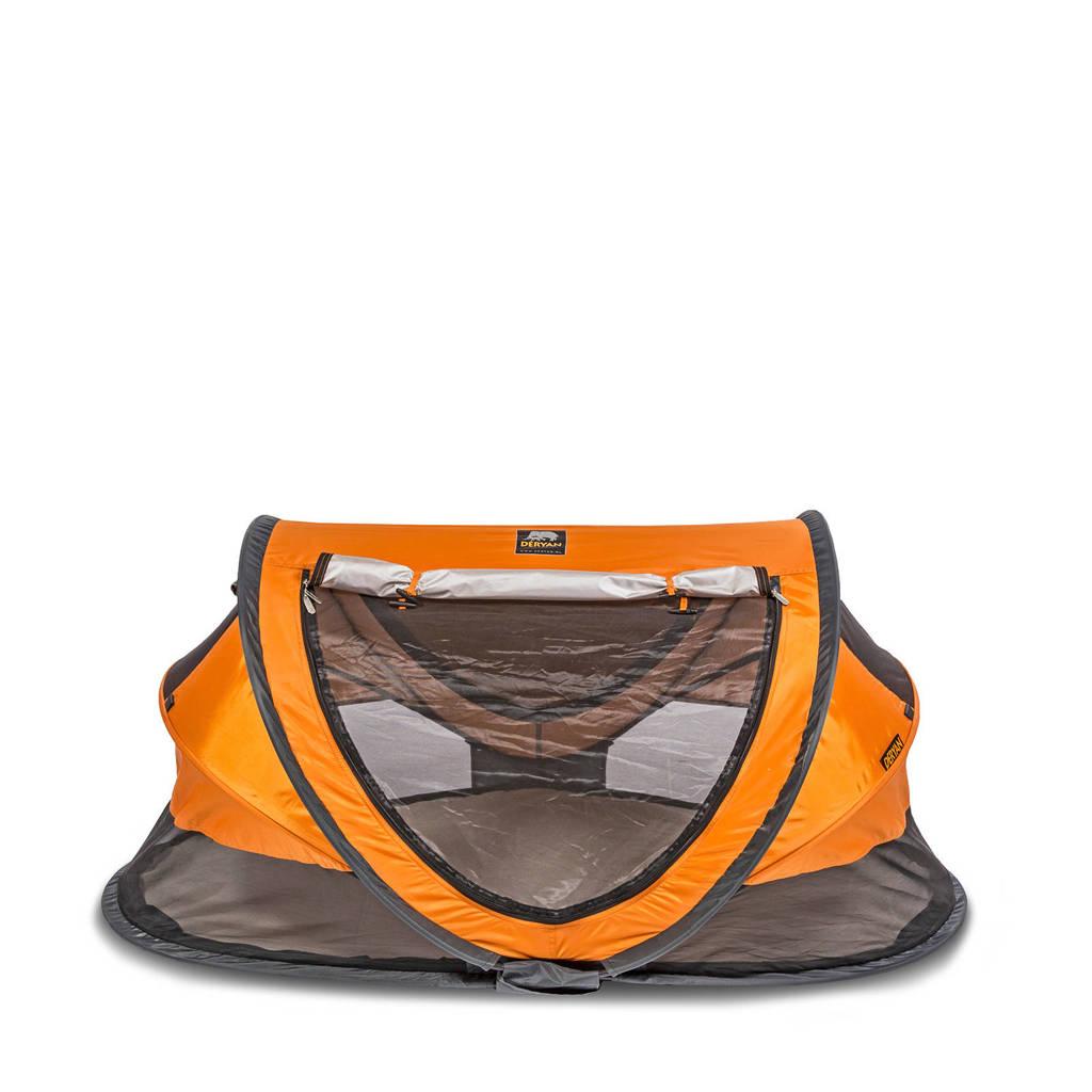 Deryan Peuter Luxe reisbed oranje, Oranje