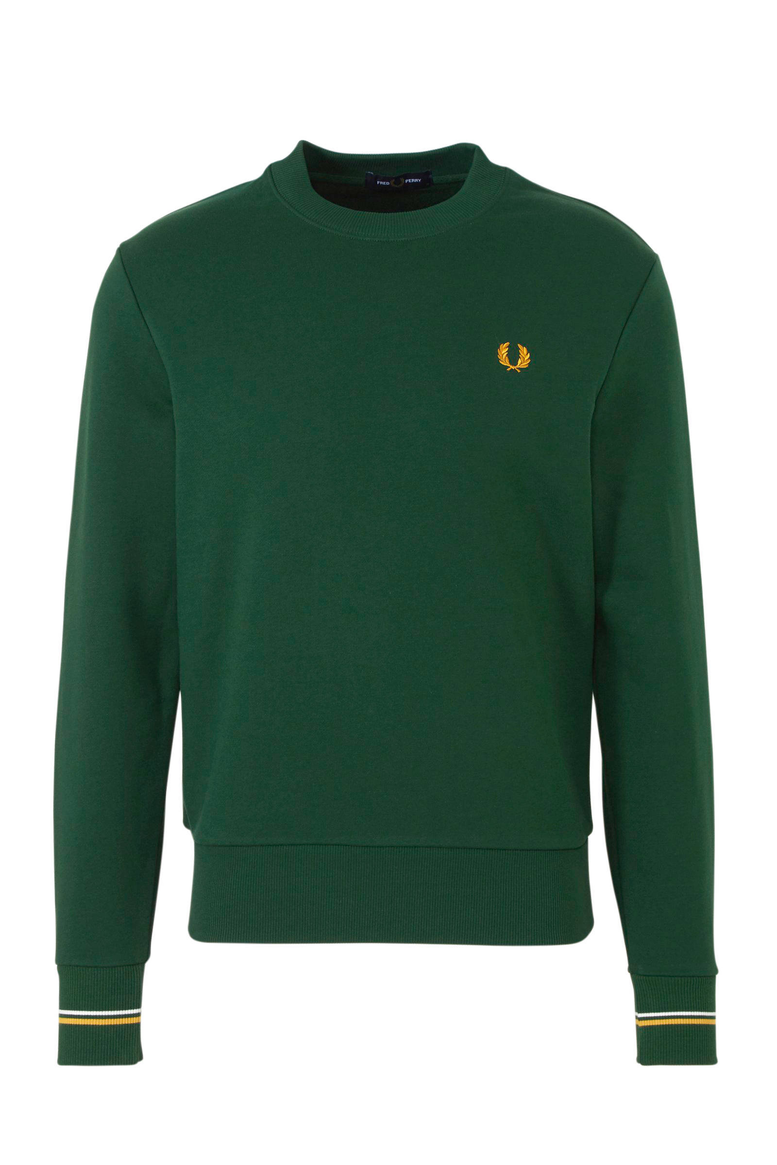 Trui Fred Perry ronde hals groen