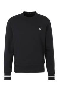 Fred Perry trui met logo marine/zwart, Marine/zwart