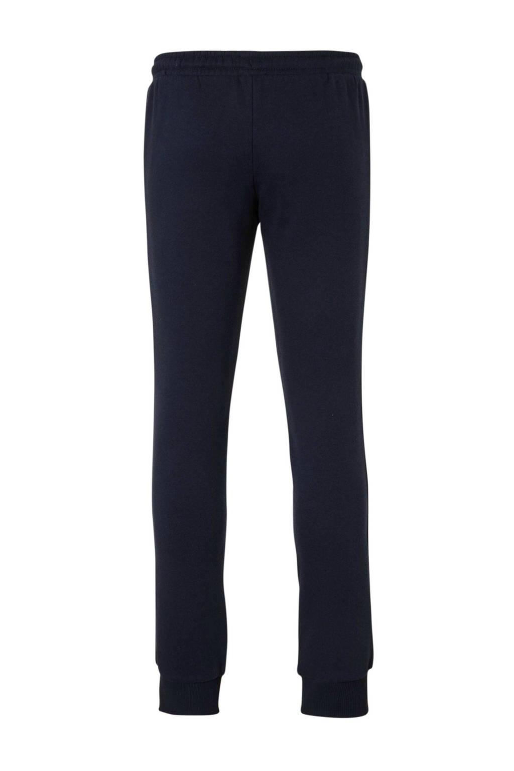 Tommy Hilfiger joggingbroek met zijstreep donkerblauw/wit, Donkerblauw/wit