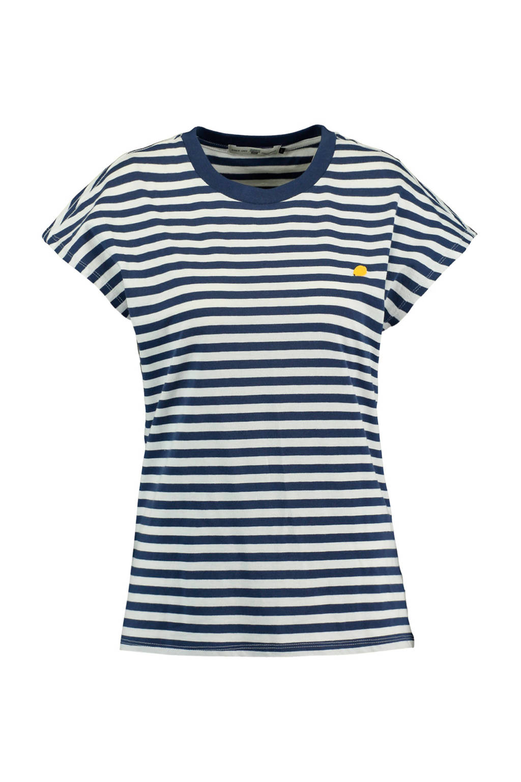 America Today T-shirt Engy blauw/wit, Blauw/wit