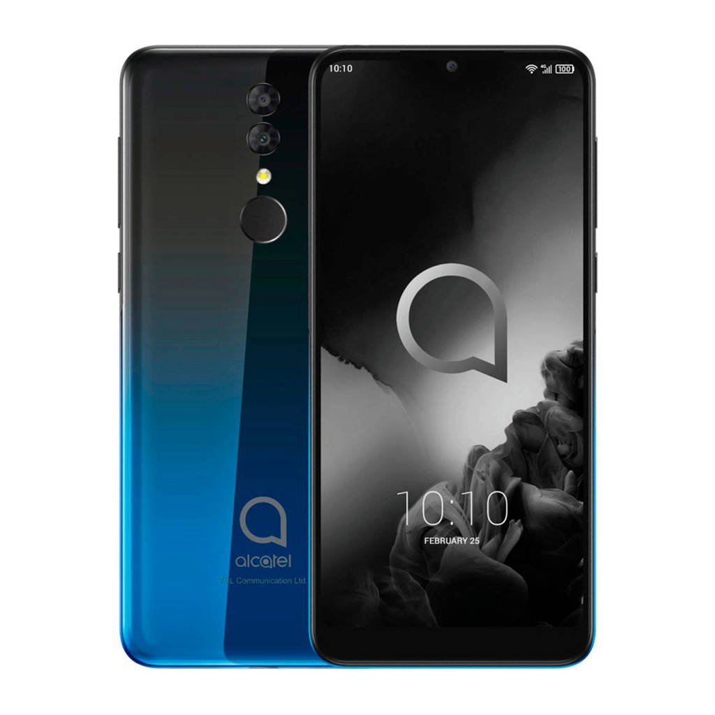 Alcatel 3 2019 32GB smartphone, Zwart