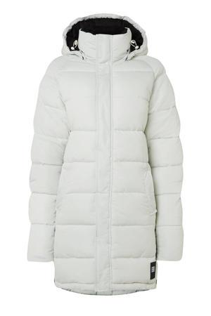 Control Jacket gewatteerde jas wit