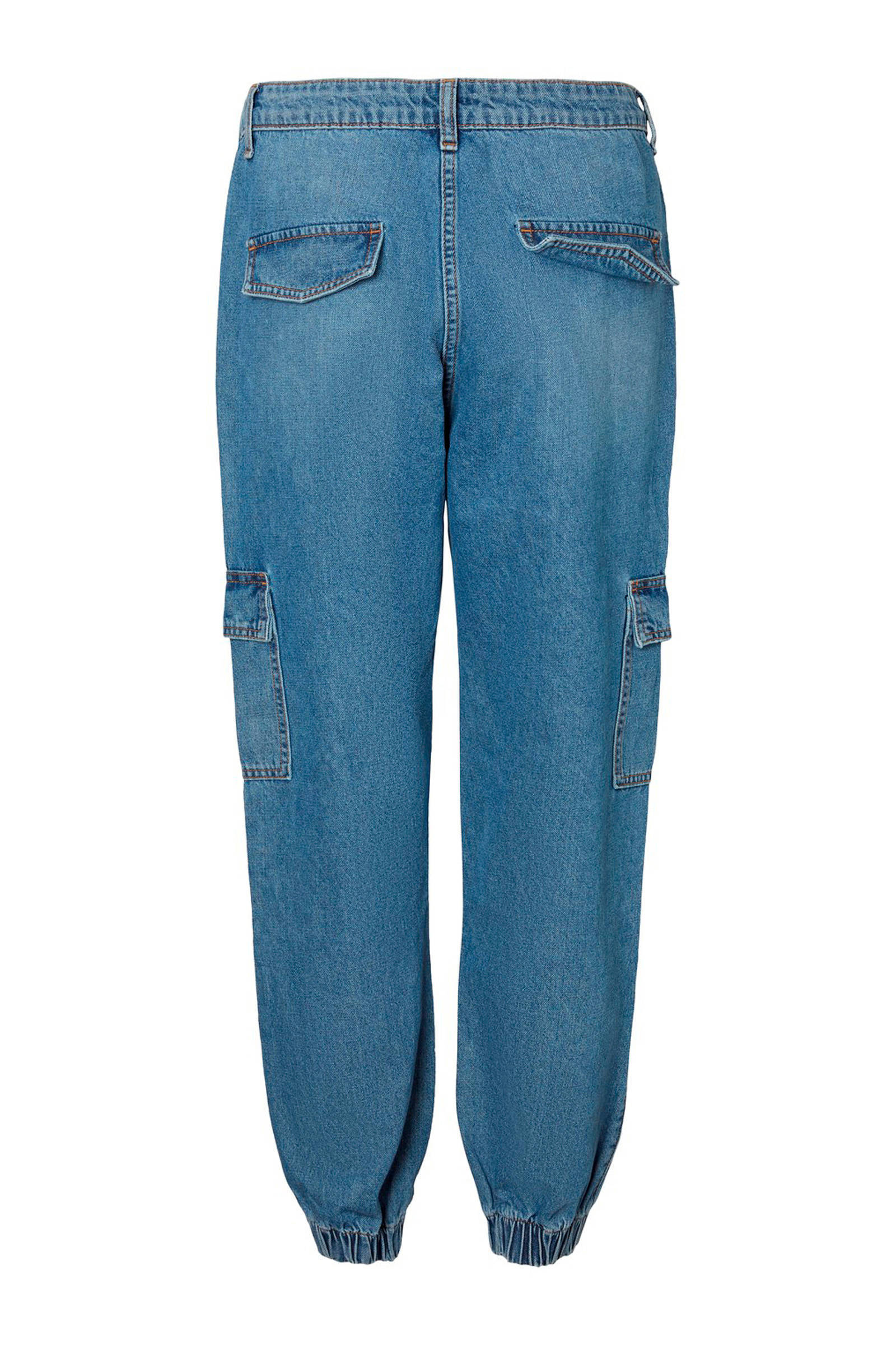 NOISY MAY loose fit jeans blauw