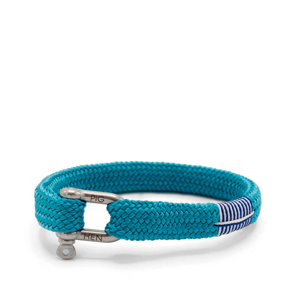 Pig & Hen Hr armband Sharp Simon, Sky blue
