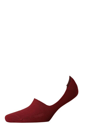 sneakersokken (2 paar) rood