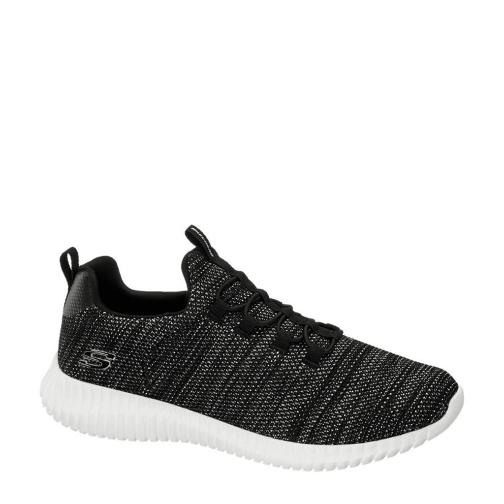 Skechers   sneakers zwart, Zwart/grijs