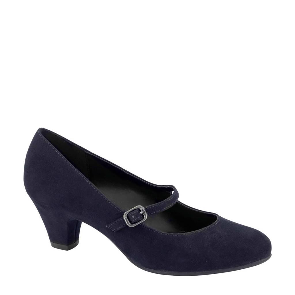 Graceland   pumps donkerblauw, Blauw