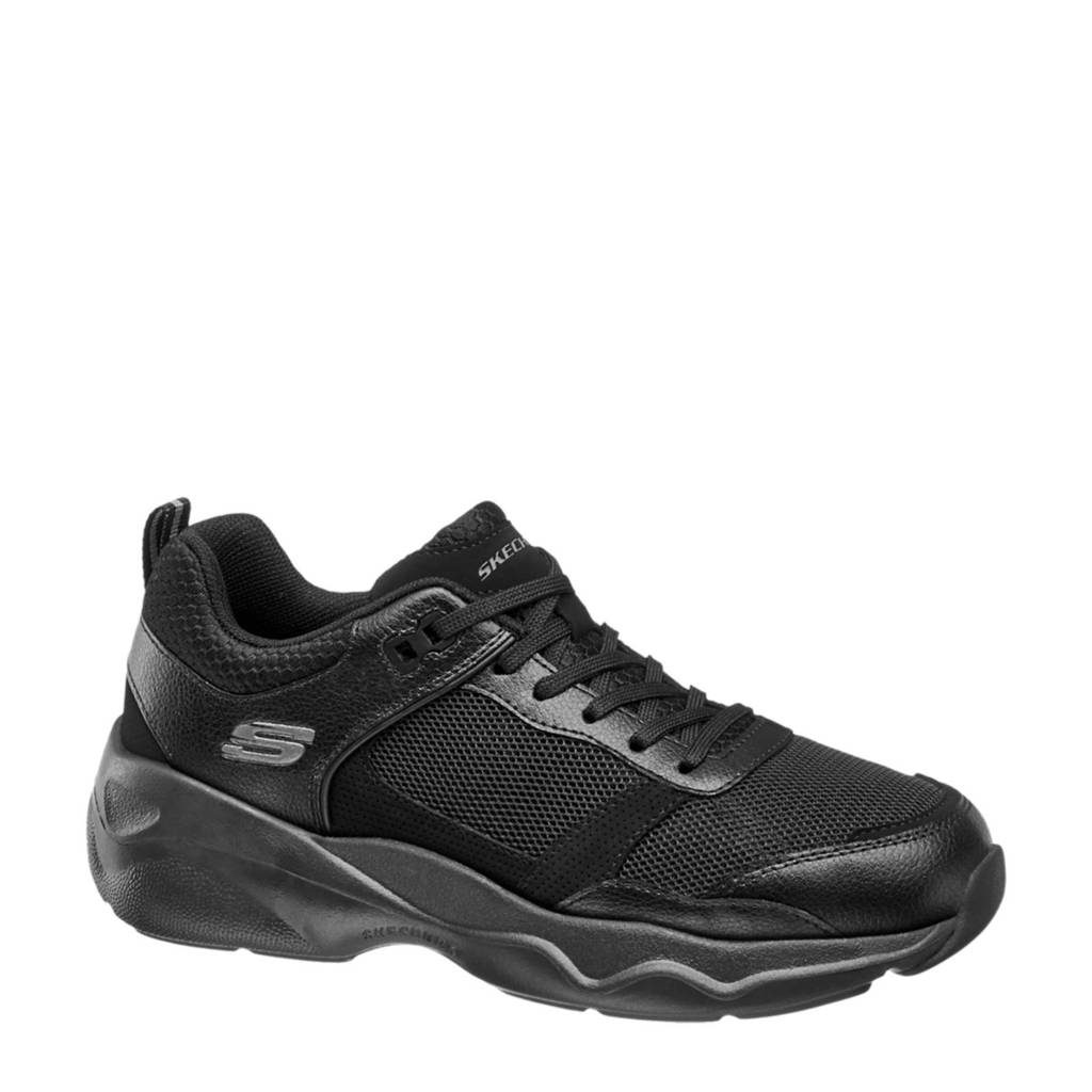 Skechers   chunky sneakers zwart, Zwart