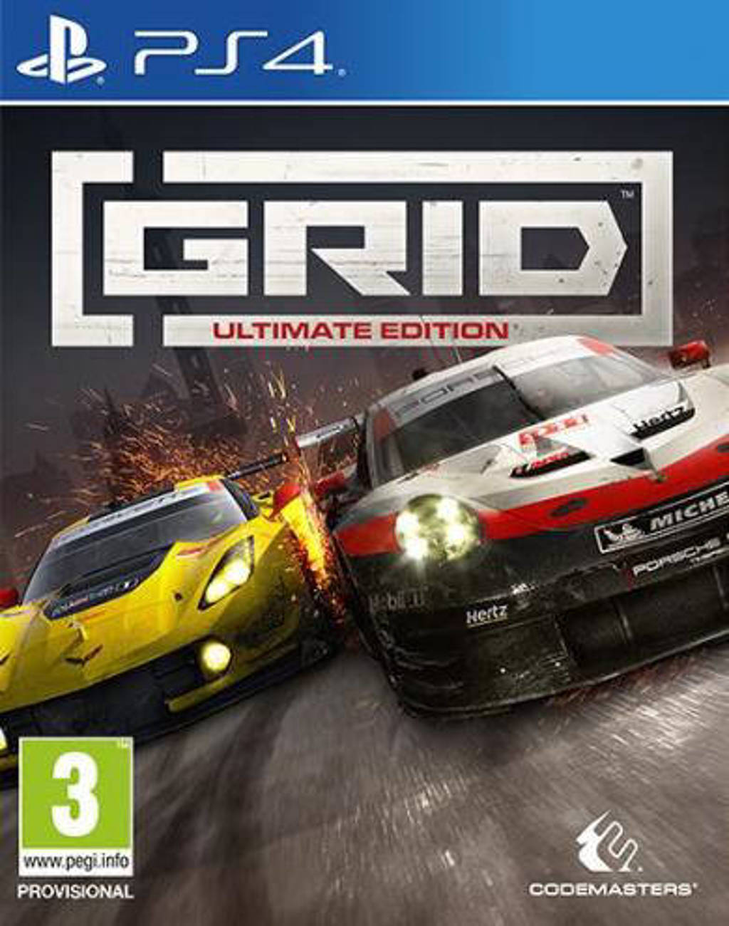 GRID - (Ultimate edition) (PlayStation 4)
