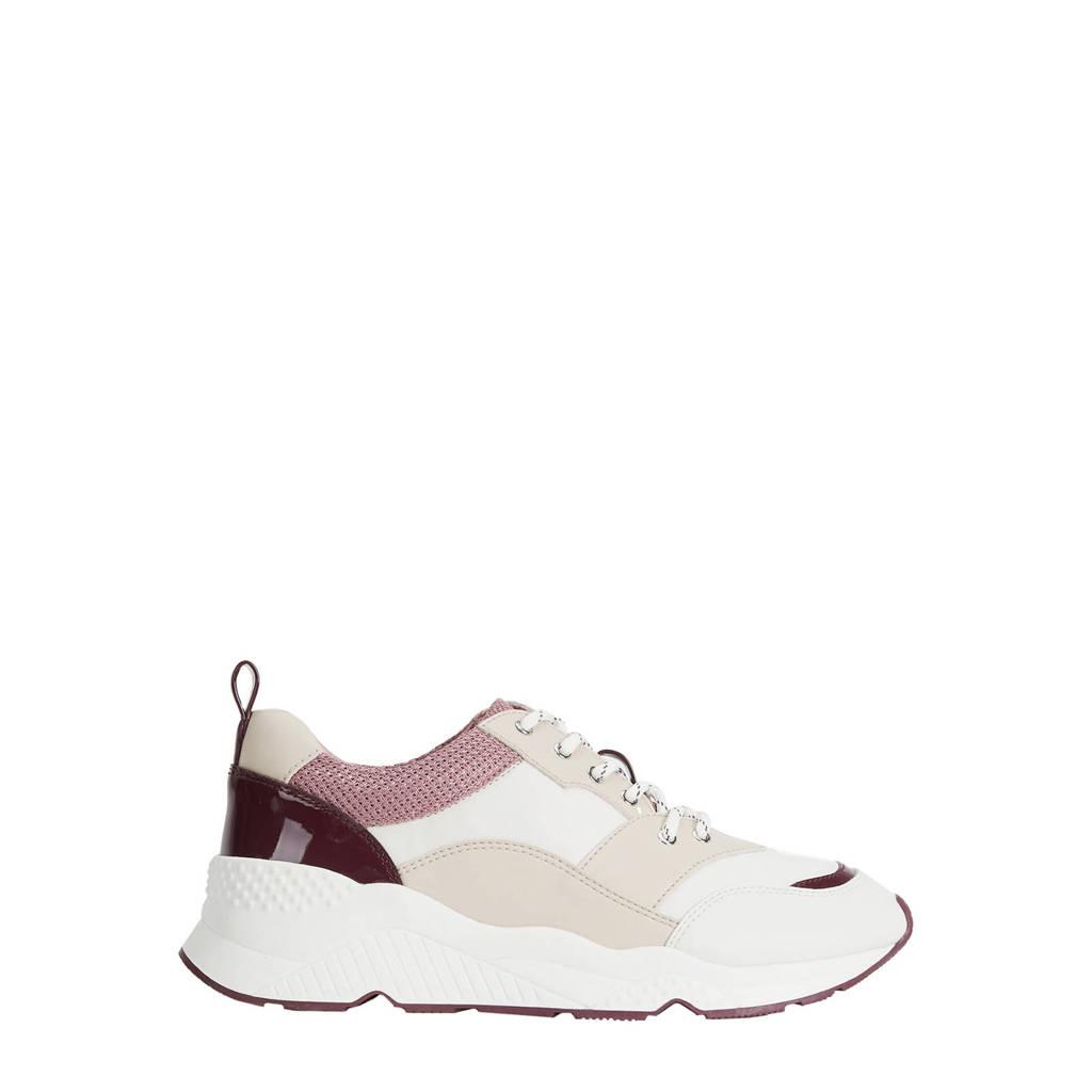 Parfois  chunky dad sneakers wit/beige, Wit/beige