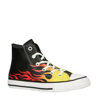 Converse All Star Chuck Taylor Hi sneakers zwart/geel/rood, Zwart/geel/rood