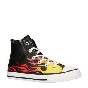 All Star Chuck Taylor Hi sneakers zwart/geel/rood