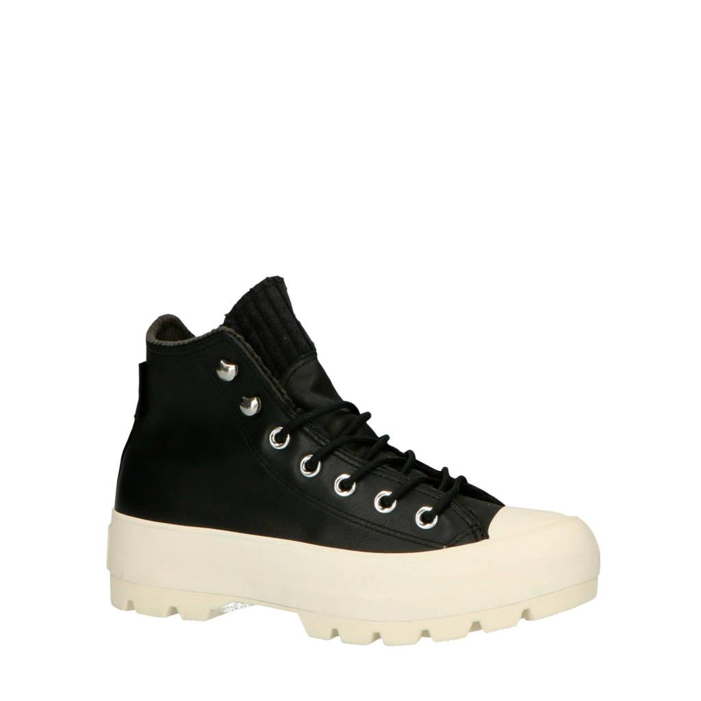 Converse  Chuck Taylor All Star Lugged veterschoenen zwart, Zwart