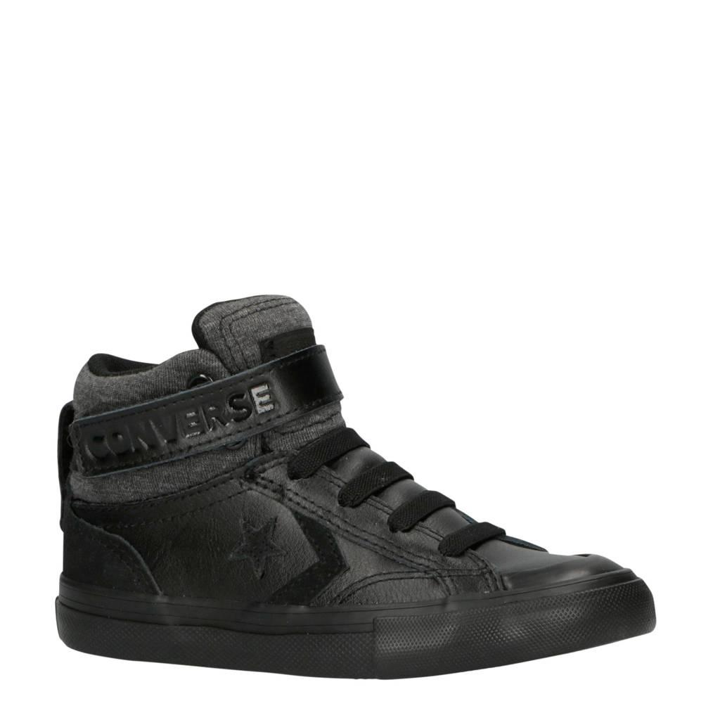 Converse  Pro Blaze STrap Hi sneakers zwart/grijs, Zwart/grijs
